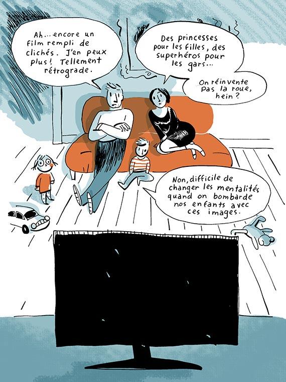 Bande dessinée stéréotypes