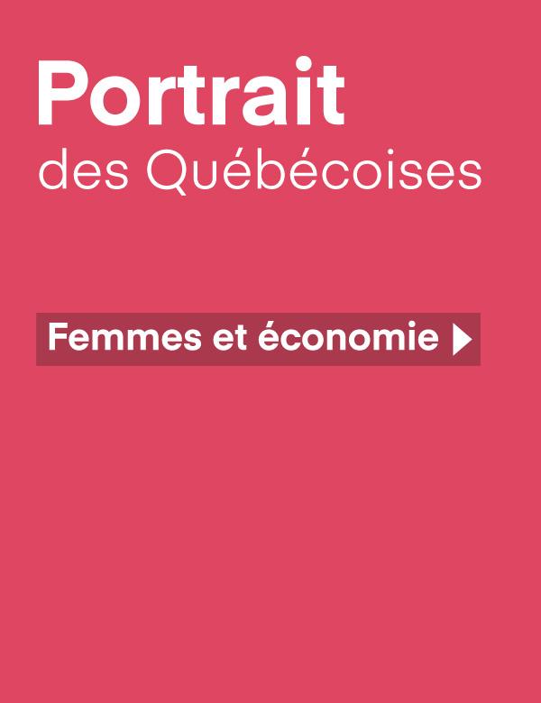 Portrait des Québécoises – Femmes et économie