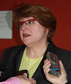 Photographie de Christiane Pelchat présidente de 2006 à août 2011.