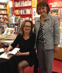 Photographie de Lynda Baril et Julie Miville-Dechêne.