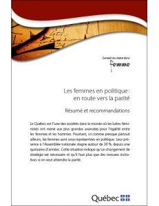 Illustration de la page couverture du résumé et recommandations.