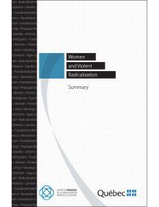 Illustration de la page couverture du résumé en anglais.